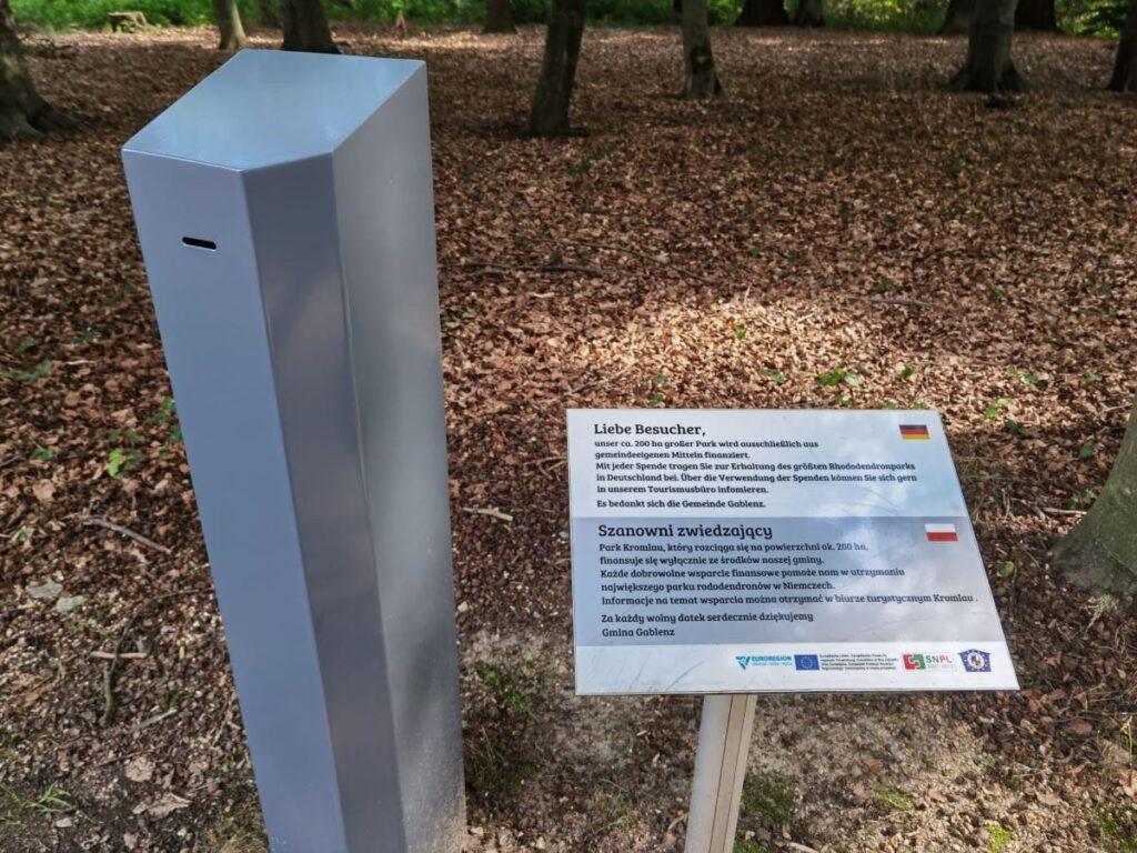 Kromlauer Park Eintritt - Spenden erwünscht, Eintritt kostenlos
