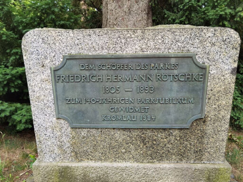 Friedrich Hermann Rötschke - ihm haben wir die Rakotzbrücke und den Kromlauer Park zu verdanken
