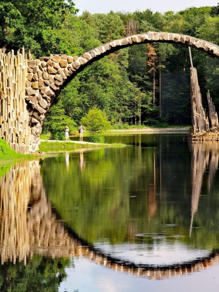 Rakotzbrücke Kromlau - auch Teufelsbrücke genannt